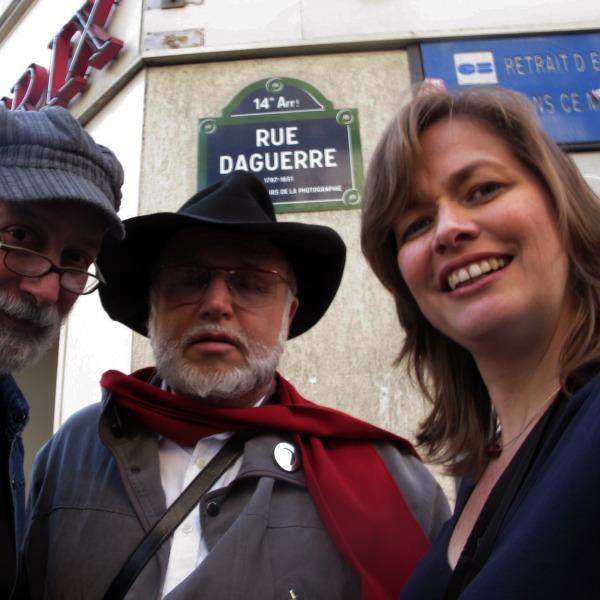 CON EVGENE BAVCAR EN PARIS